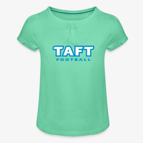 4769739 124019410 TAFT Football orig - Tyttöjen t-paita, jossa rypytyksiä