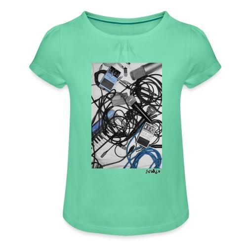 Jumio Print - Tyttöjen t-paita, jossa rypytyksiä