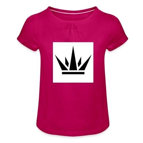 King T-Shirt 2017 - Girl's T-Shirt with Ruffles