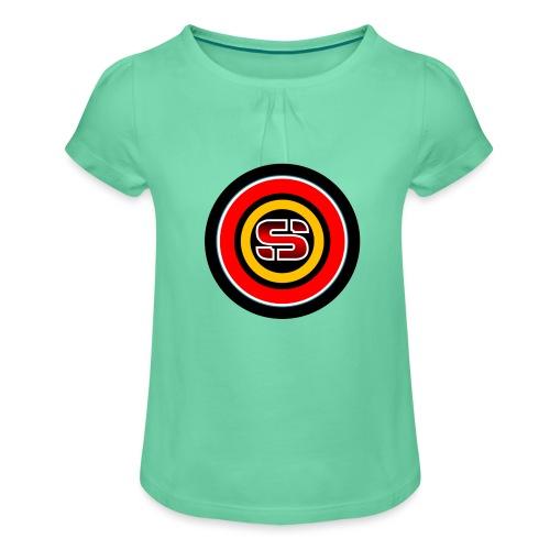 ESFERA LOGO - Camiseta para niña con drapeado