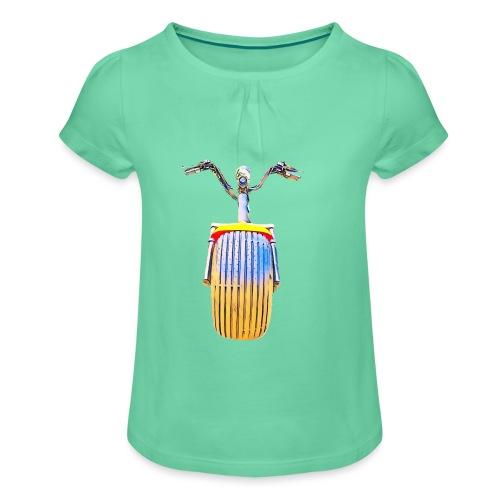 Scooter - T-shirt à fronces au col Fille