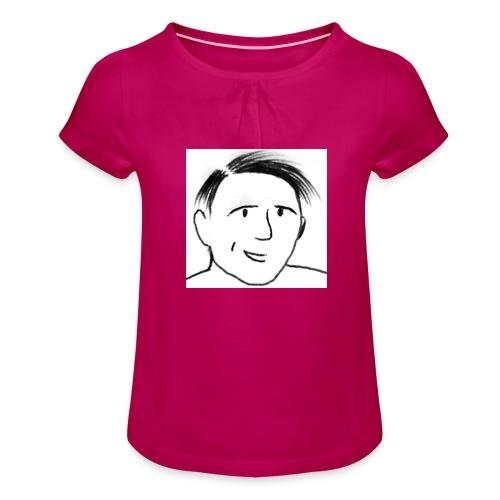 Prof Pon - Maglietta da ragazza con arricciatura