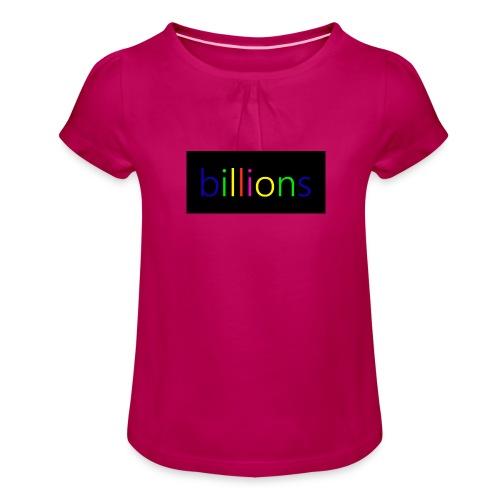 billions - Meisjes-T-shirt met plooien