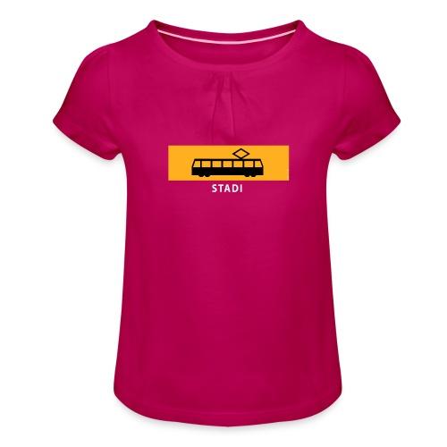 STADIN RATIKKA PYSÄKKI KYLTTI T-paidat ja lahjat - Tyttöjen t-paita, jossa rypytyksiä