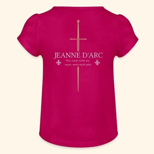 Jeanne d arc - Mädchen-T-Shirt mit Raffungen