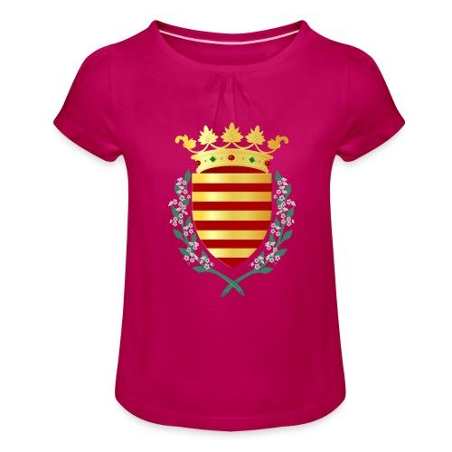 Wapenschild Borgloon - Meisjes-T-shirt met plooien