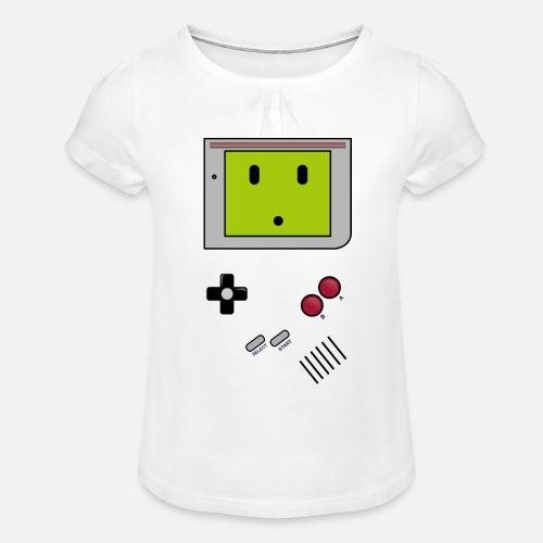 GB - T-shirt à fronces au col Fille
