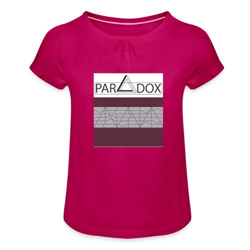 Iphone case jpg - Meisjes-T-shirt met plooien