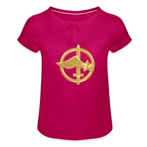 Tasse Fusiliers Commandos de l'Air - T-shirt à fronces au col Fille