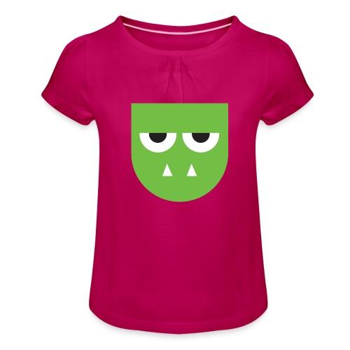 Troldehær - Girl's T-Shirt with Ruffles