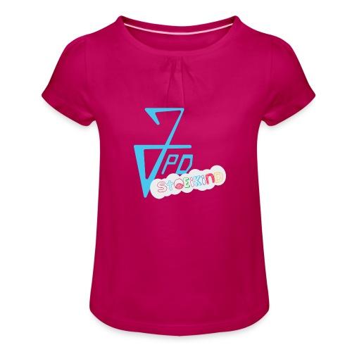 JPD StoeiKind - Meisjes-T-shirt met plooien
