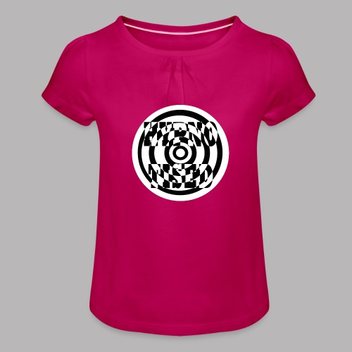 HYPNO-TISED - Girl's T-Shirt with Ruffles