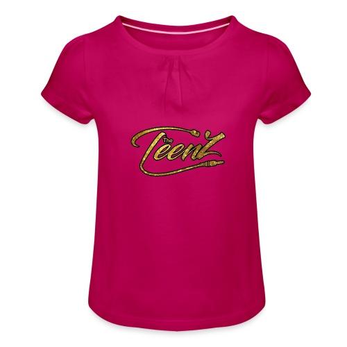logo The TeenZ - Meisjes-T-shirt met plooien