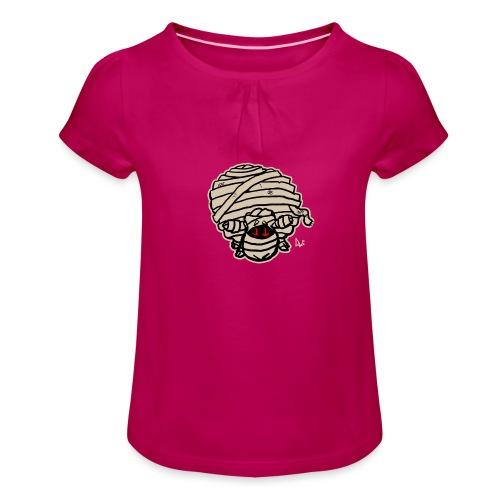 Mummy Sheep - Girl's T-Shirt with Ruffles