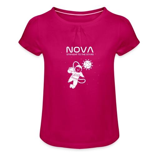 Novacyt cosmonaute - T-shirt à fronces au col Fille
