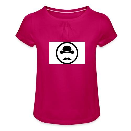 Bigote Logo La Trompa - Camiseta para niña con drapeado