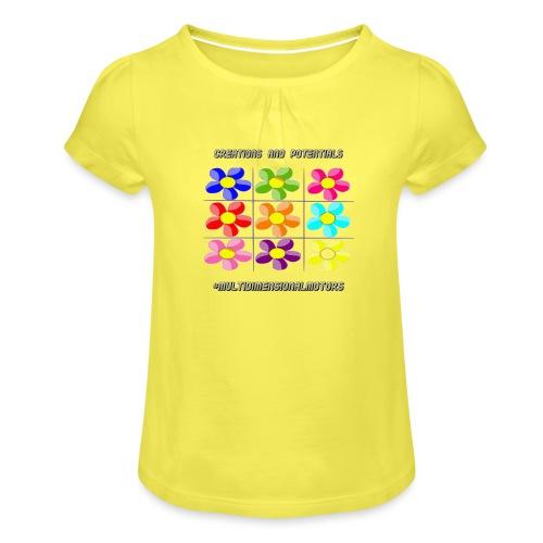 logo of my #MultiDimensionalMotors blog - Maglietta da ragazza con arricciatura