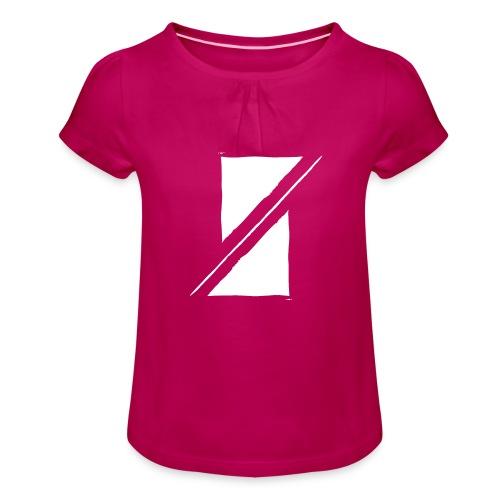 Muzik & Friendz Records Logo - Meisjes-T-shirt met plooien