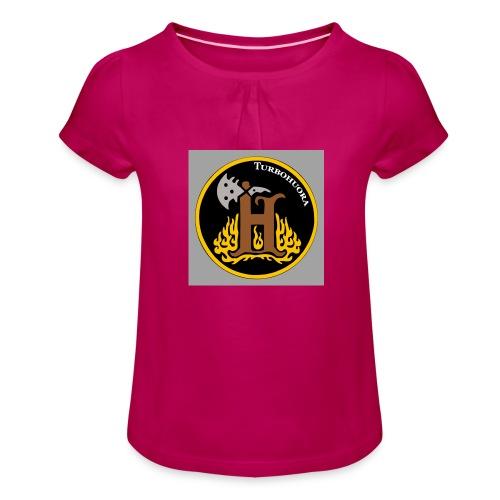THbutton 32Srgb400 - Tyttöjen t-paita, jossa rypytyksiä