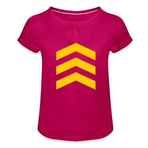 Kersantti - Tyttöjen t-paita, jossa rypytyksiä