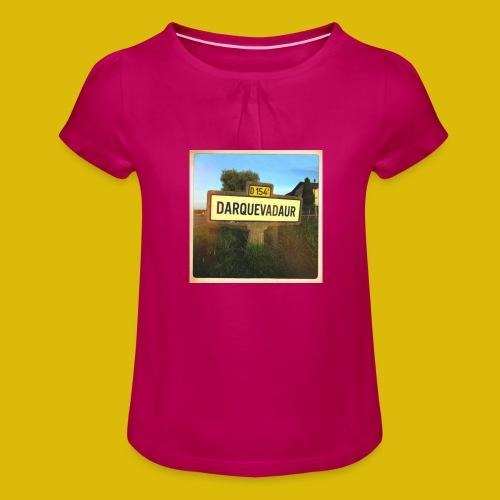 Dark vador - T-shirt à fronces au col Fille