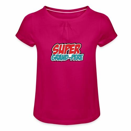 Super Grandpere - Girl's T-Shirt with Ruffles