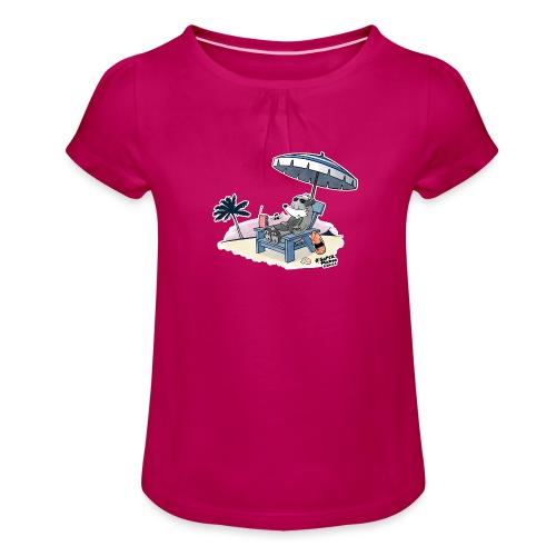 Aloha! - Jente-T-skjorte med frynser