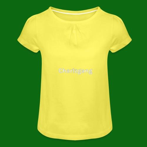 Charlzgang - Girl's T-Shirt with Ruffles