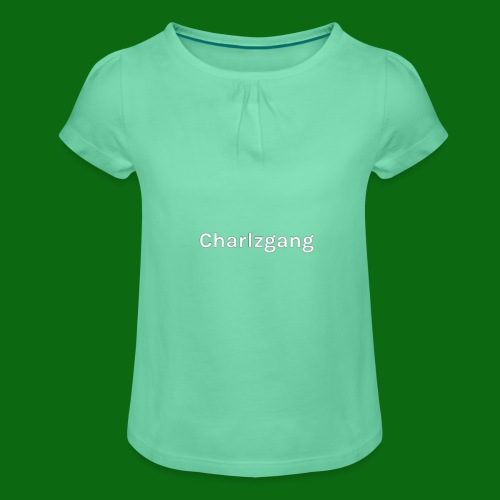 Charlzgang - Girl's T-Shirt with Ruffles