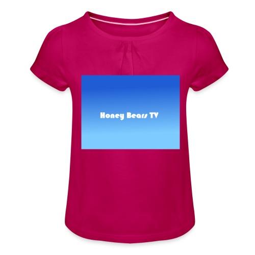 Honey Bears TV Merch - Girl's T-Shirt with Ruffles