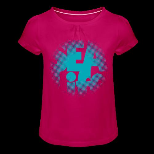 Sealife surfing tees, clothes and gifts FP24R01A - Tyttöjen t-paita, jossa rypytyksiä
