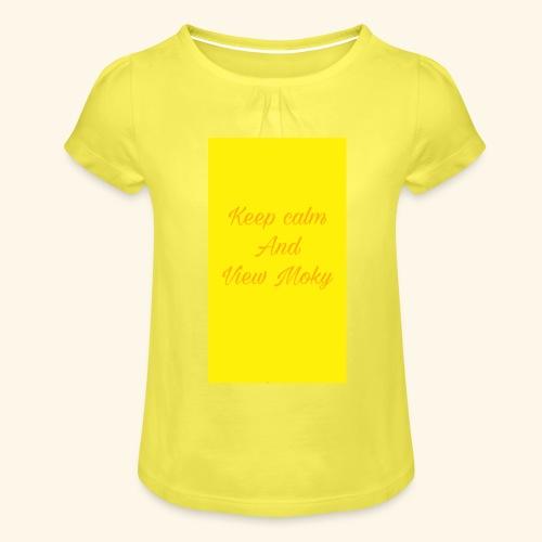 1504809773707 - Maglietta da ragazza con arricciatura