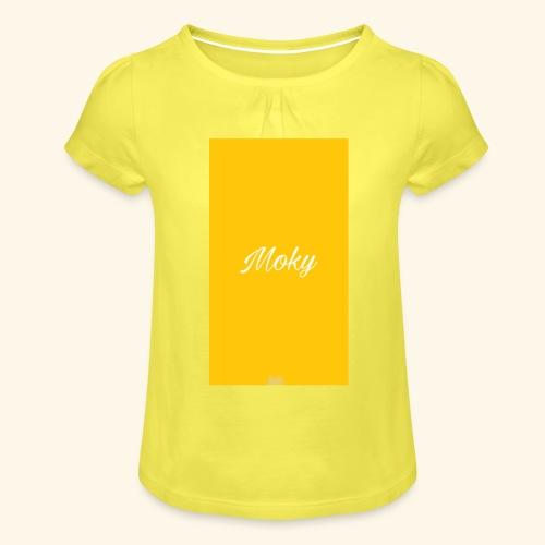 1504810420867 - Maglietta da ragazza con arricciatura