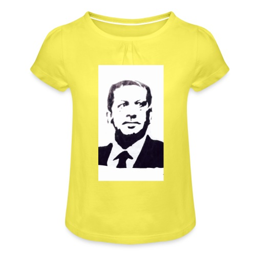 IMG 4873 - T-shirt à fronces au col Fille