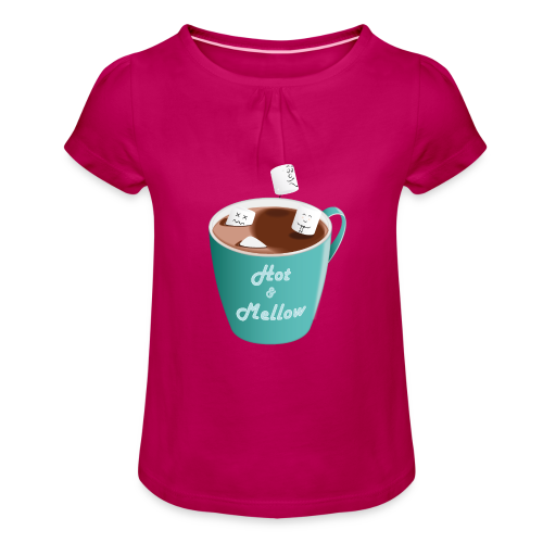 Hot & Mellow - foodcontest - Girl's T-Shirt with Ruffles