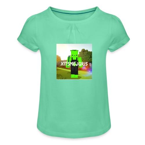 xItsMeJqris - Meisjes-T-shirt met plooien