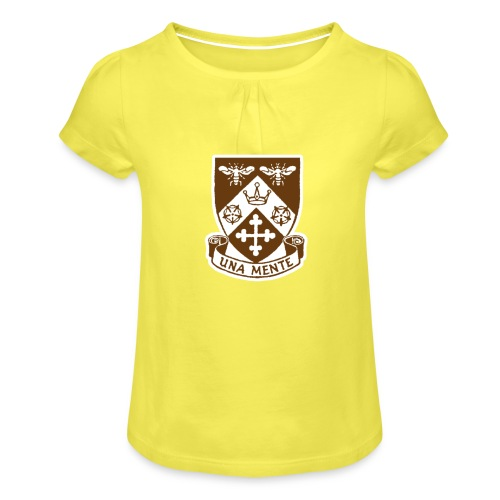Borough Road College Tee - Girl's T-Shirt with Ruffles