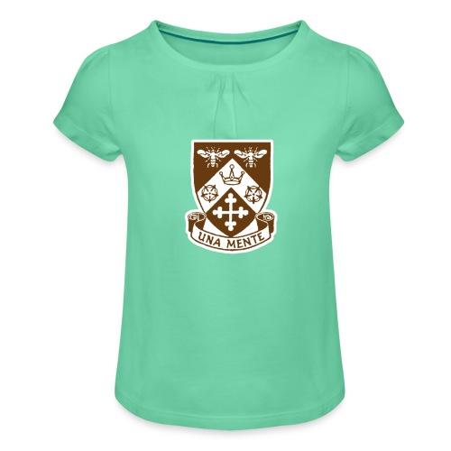 Borough Road College Tee - Girl's T-Shirt with Ruffles