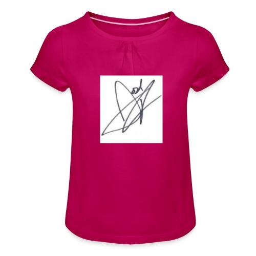 Tshirt - Girl's T-Shirt with Ruffles