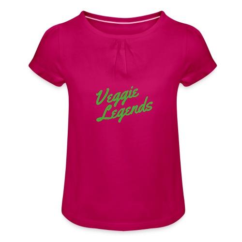 Veggie Legends - Girl's T-Shirt with Ruffles