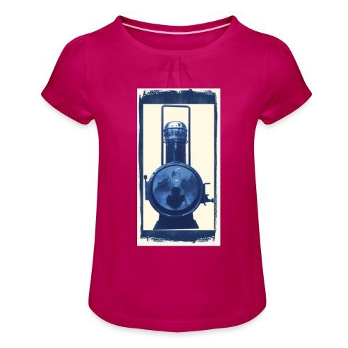 Lok Lantern - Tyttöjen t-paita, jossa rypytyksiä