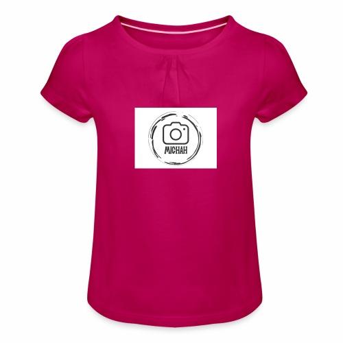 Michah - Girl's T-Shirt with Ruffles