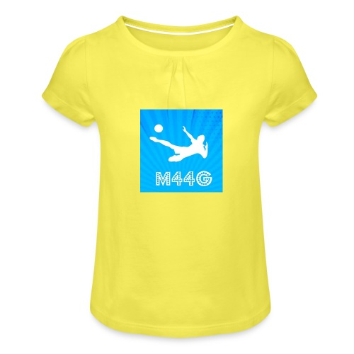 M44G clothing line - Girl's T-Shirt with Ruffles