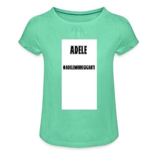 t-shirt divertente - Maglietta da ragazza con arricciatura