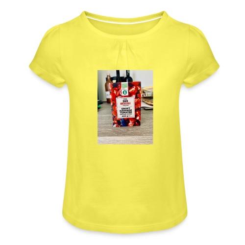 Tomato - Pige T-shirt med flæser