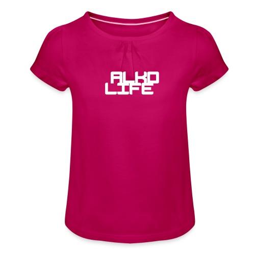 Projektowanie nadruk koszulki 1547218658149 - Koszulka dziewczęca z marszczeniami