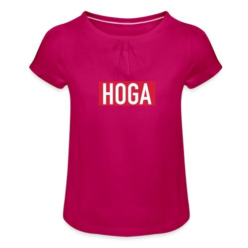 HOGAREDBOX - Jente-T-skjorte med frynser