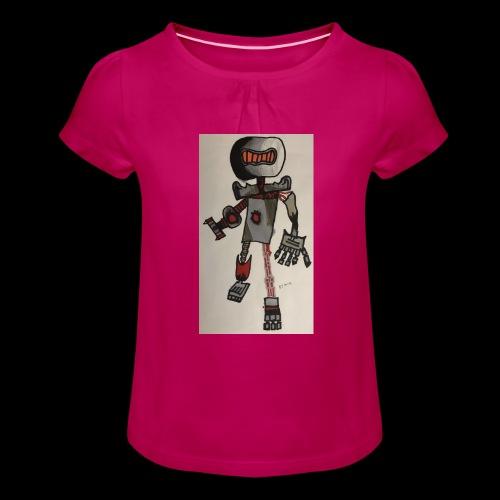 Rock OT BY TAiTO - Tyttöjen t-paita, jossa rypytyksiä