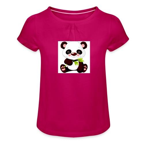 244400a1918e3c633c7947a71776fddc jpg - Meisjes-T-shirt met plooien