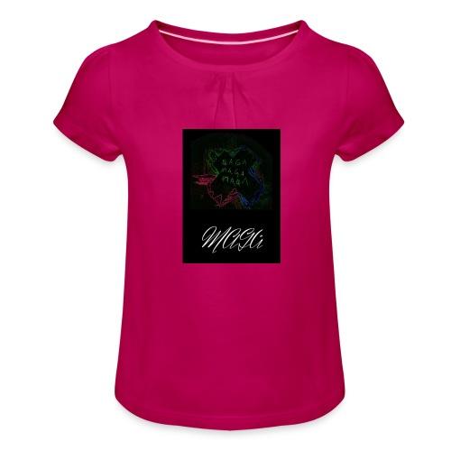 MAGA - Mädchen-T-Shirt mit Raffungen